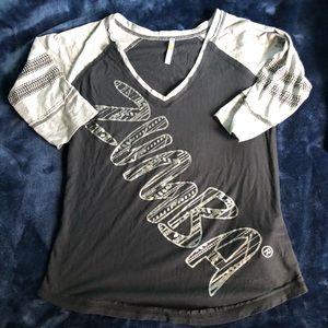 2/$15 Zumba Baseball Shirt